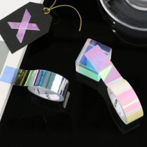 holographic unicorn skin washi medium Washi tape (5 of 5)