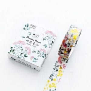 Blooming Garden medium Washi Tape
