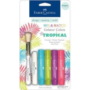 Gelatos faber-castell nz tropical pack