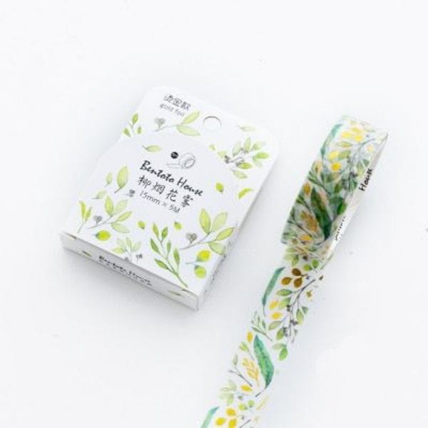 Lemon Thyme Medium Washi Tape