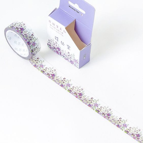 lavender love washi tape nz