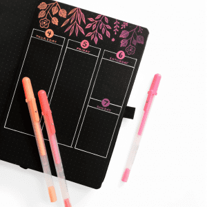 Archer and olive blackout journal bullet notebook new zealand example