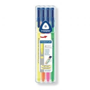 Staedtler Triplus® Textsurfer Highlighter | Neon Pack journal junkies new zealand