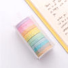 12 piece thin pastel coloured washi kit new zealand in box