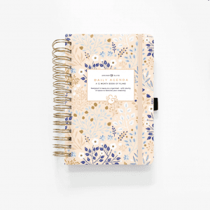 Archer and Olive A5 Spiral Planner | Blush-A-Bye cover buy new zealand
