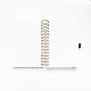 Archer and Olive A5 Spiral Planner | Blush-A-Bye dotted notes