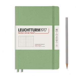 Leuchtturm1917 Bullet Journal new zealand new muted colours sage green