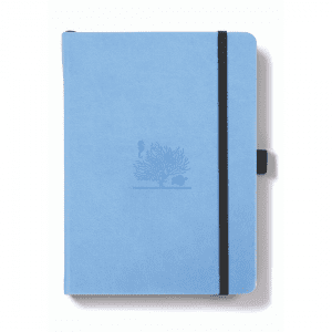 Dingbats A5 Dotted Notebook Earth Series _ Great Barrier Reef Sky Blue