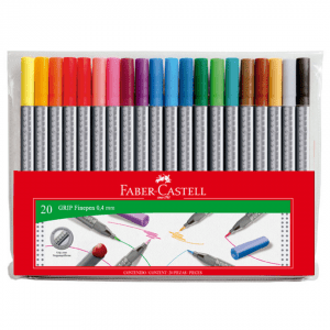 Faber-Castell Grip Finepen _ 20 Pack Fineliner