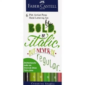 Faber-Castell Hand Lettering Pack | Bold Colours