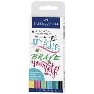 Faber-Castell Hand Lettering Pack | Bright Colours