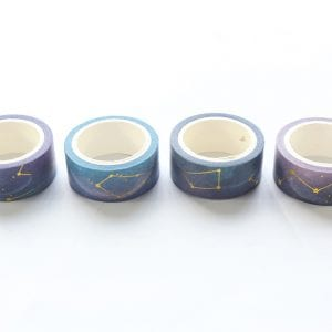 Look To The Skies Cool | Washi tape Set in a row