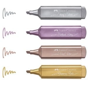 Faber-Castell Metallic Highlighter pack