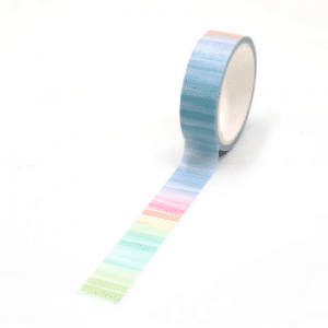 Summer Stripes Pretty washi tape new zealand