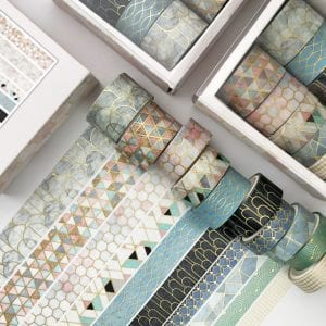Washi Tape Set Bulk Buy New Zealand Geometric 3