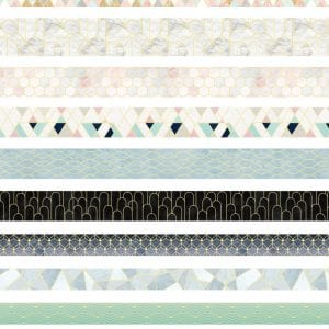 Washi Tape Set Bulk Buy New Zealand Geometric